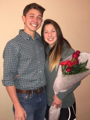 Joran Fuller created an elaborate, miles-long prom-posal for his girlfriend Claire Short.