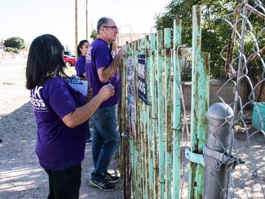 SISD volunteers held the district's annual Walk for