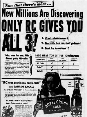 An ad in The Greenville News on Oct. 16, 1947.