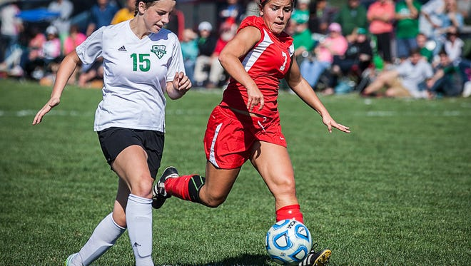 Yorktown defeated Jay County at the Yorktown Sports Park on Saturday, Oct. 10, 2015.