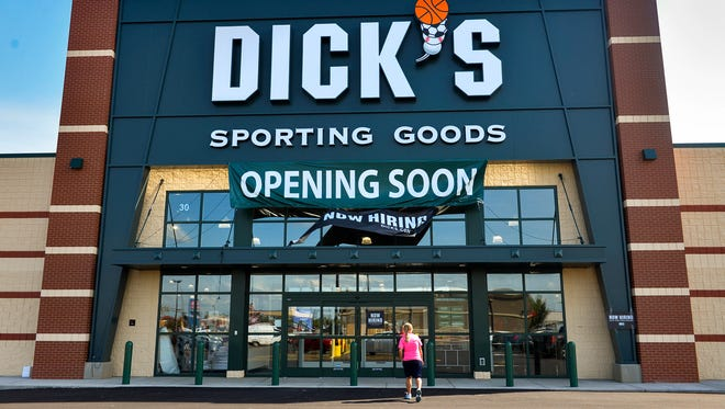 Dick's Sporting Goods opened in August of 2016 at 40 Second St. S in Waite Park.