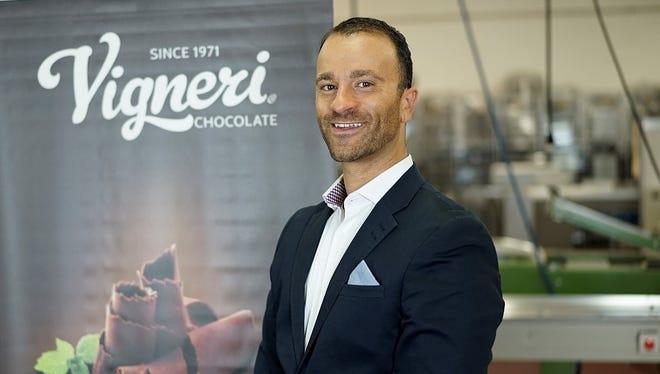 Alex Vigneri, CEO of Vigneri Chocolate.