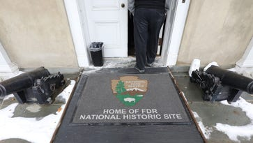 FDR historic site and three others suspended after government shutdown