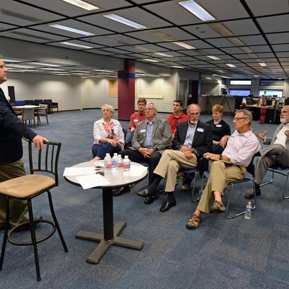 Greenville News presidential focus group