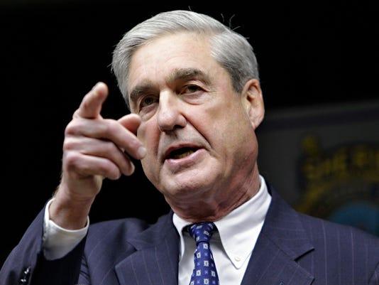 Former FBI director Robert Muellern