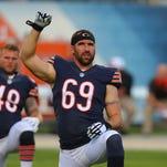 Chicago Bears linebacker Jared Allen.