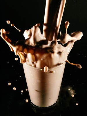 """One of the USA Today """"Snapshots"""" surveys said 48 percent of Americans don't know where chocolate milk comes from."""