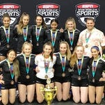 Legacy Elite U15 third in AAU Junior Volleyball