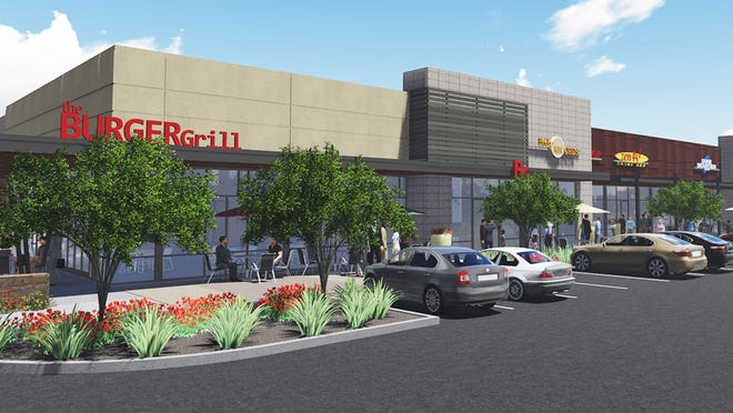 Nationwide Realty Investors plans to open the first retail shops at its massive Rivulon development in Gilbert by the end of 2015.