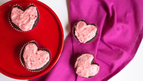 Treat your Valentine to something chocolaty, from homemade truffles to a mousse cake studded with strawberries.