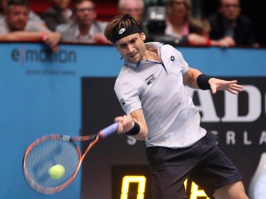 2015-10-25-David Ferrer-Erste Bank Open
