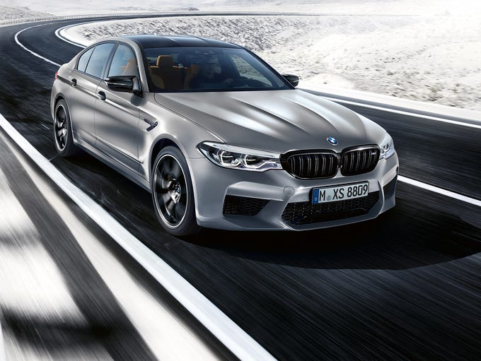 BMW introduces what it says it the fastest M5 ever