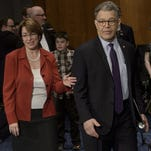 Senator Amy Klobuchar and Senator Al Franken both sit on the Senate Judiciary Committee.