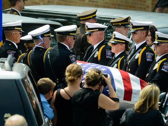 Officer Killed-Minnesota-Funeral