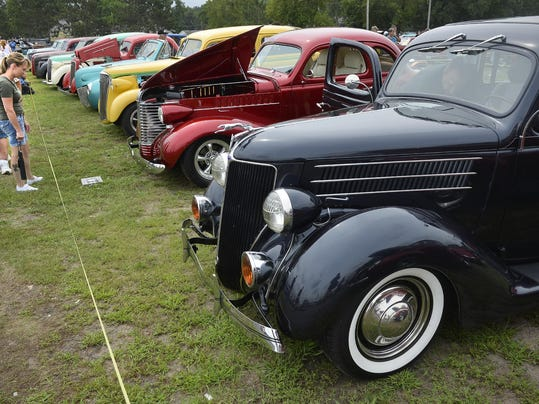 Rat Rods Add Character To Car Show