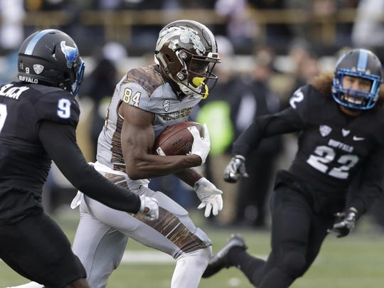 Western Michigan wide receiver Corey Davis is the all-time