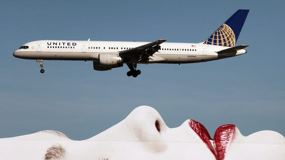In this file photo from Jan. 17, 2013, a United Airlines