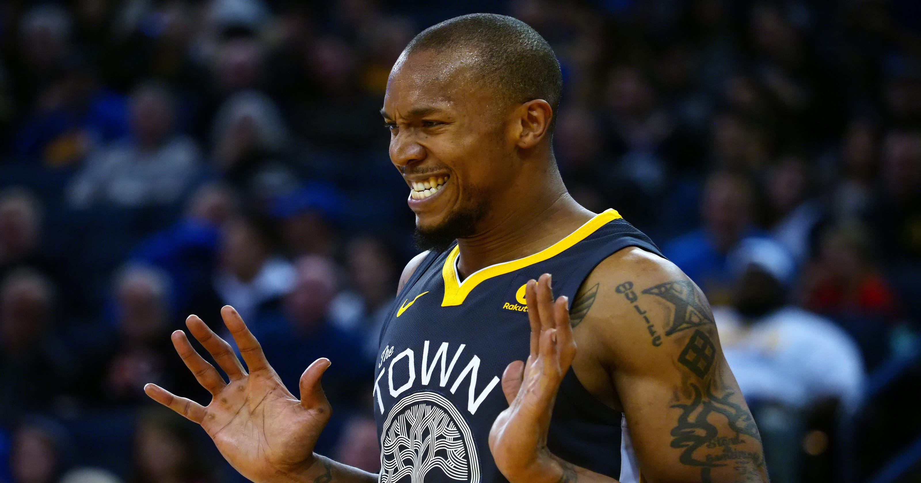 Warriors David West Gets Technical For Riding An