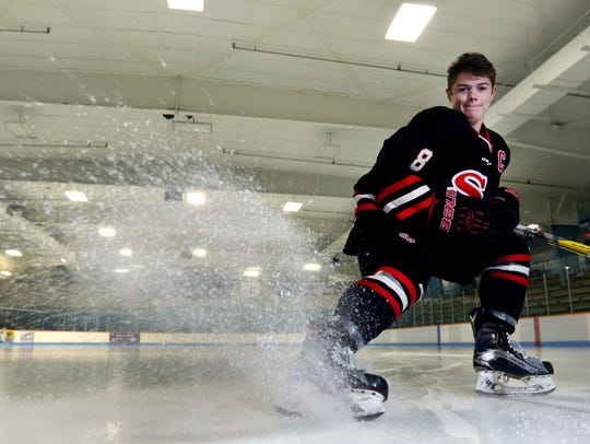 SPASH sophomore Cole Caufield continues to make a name
