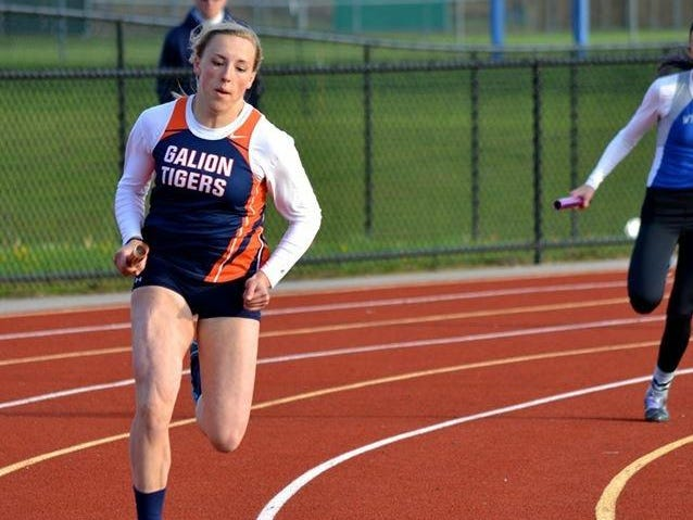 Kylie Redman takes to the track for her sophomore season a year after tearing her ACL
