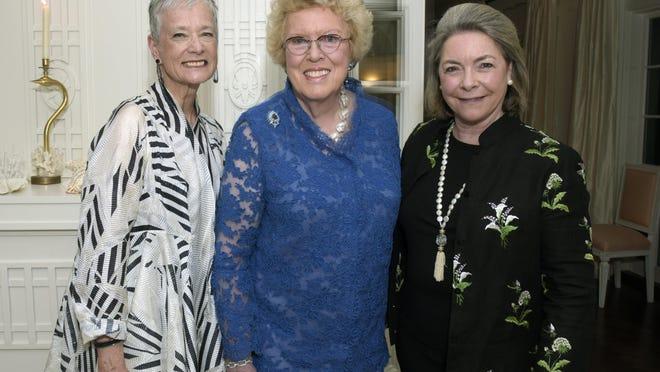 Kate Markert, Ellen Charles and Nina Rumbough
