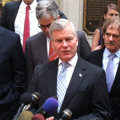 Bob McDonnell after his appeal at federal court in