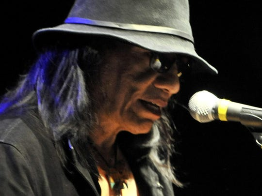 """""""Searching for Sugar Man"""" star Sixto Rodriguez plays"""