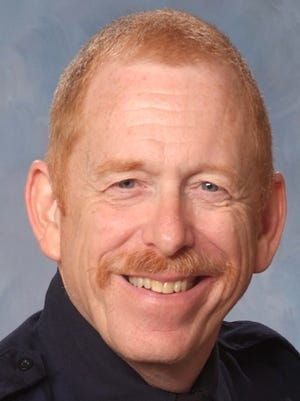 """Capt. Stephen Babcock, a member of the Lansing Fire Department's Emergency Management Division and a public information officer, died Feb. 3, 2016 after what the department called""""a short but hard fight"""" againstnon-Hodgkinlymphoma. He was 65."""