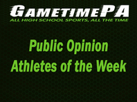 Public Opinion Athletes of the Week