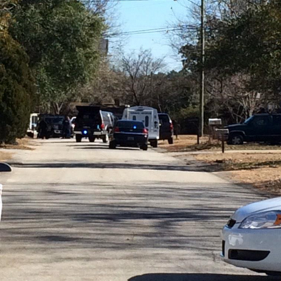 Police on scene of home on Ansley Court after suspicious