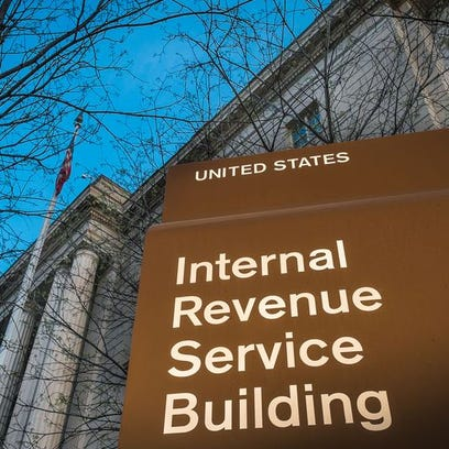 This April 13, 2014, file photo shows the IRS headquarters