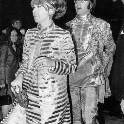 John and Cynthia Lennon in 1967.