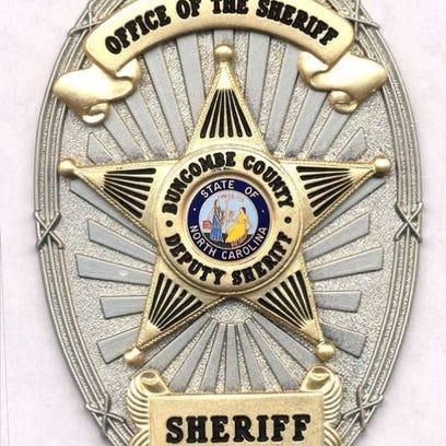Buncombe County Sheriff badge