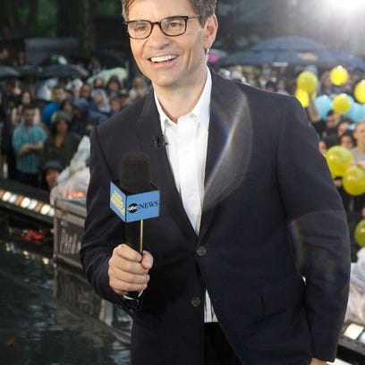 George Stephanopoulos in June on 'GMA.'