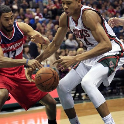 The Wizards defeated the Bucks 111-100 Saturday night.