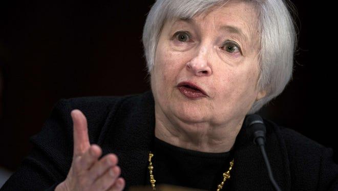 Janet Yellen will assume the chairmanship of the Federal Reserve on Feb. 1, succeeding Ben Bernanke.