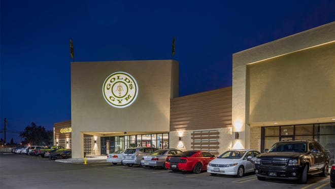 This is a rendering of Gold's Gym, which is slated to open it's third Ventura County location in spring 2019.