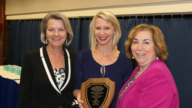 Jessica Cortese of Plainsboro, a 2008 graduate of Middlesex County College (MCC), was named the 2016 Alumna of the Year for contributions to the college, its Alumni Association or its foundation.