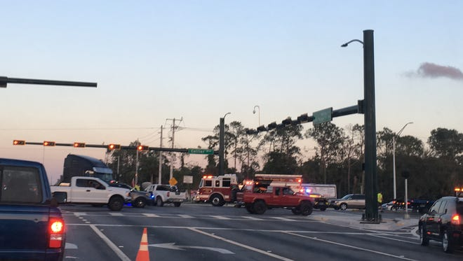 A crash in Collier County left a Naples man in critical condition, state police said, on Monday, April 9, 2018.