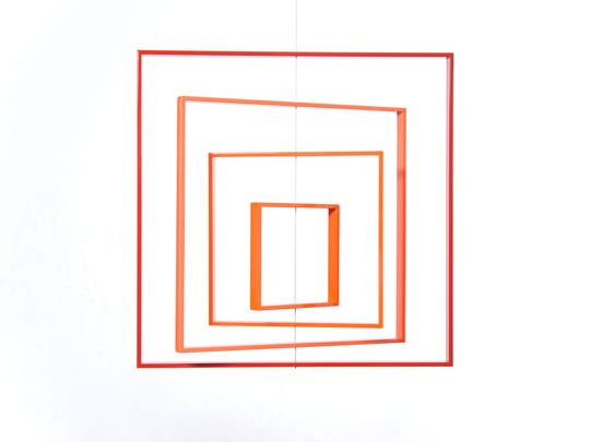 Jose Davila: Homage to the Square; part of the Minimalist Mostly pop-up exhibit.