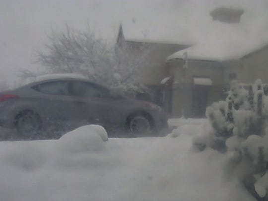 Reno police release a photo of the suspect's car following