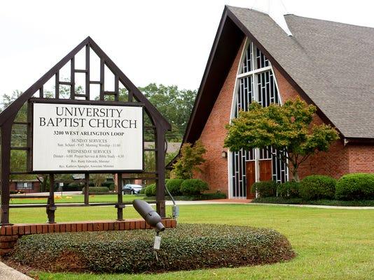 Building Mug -- University Baptist Church