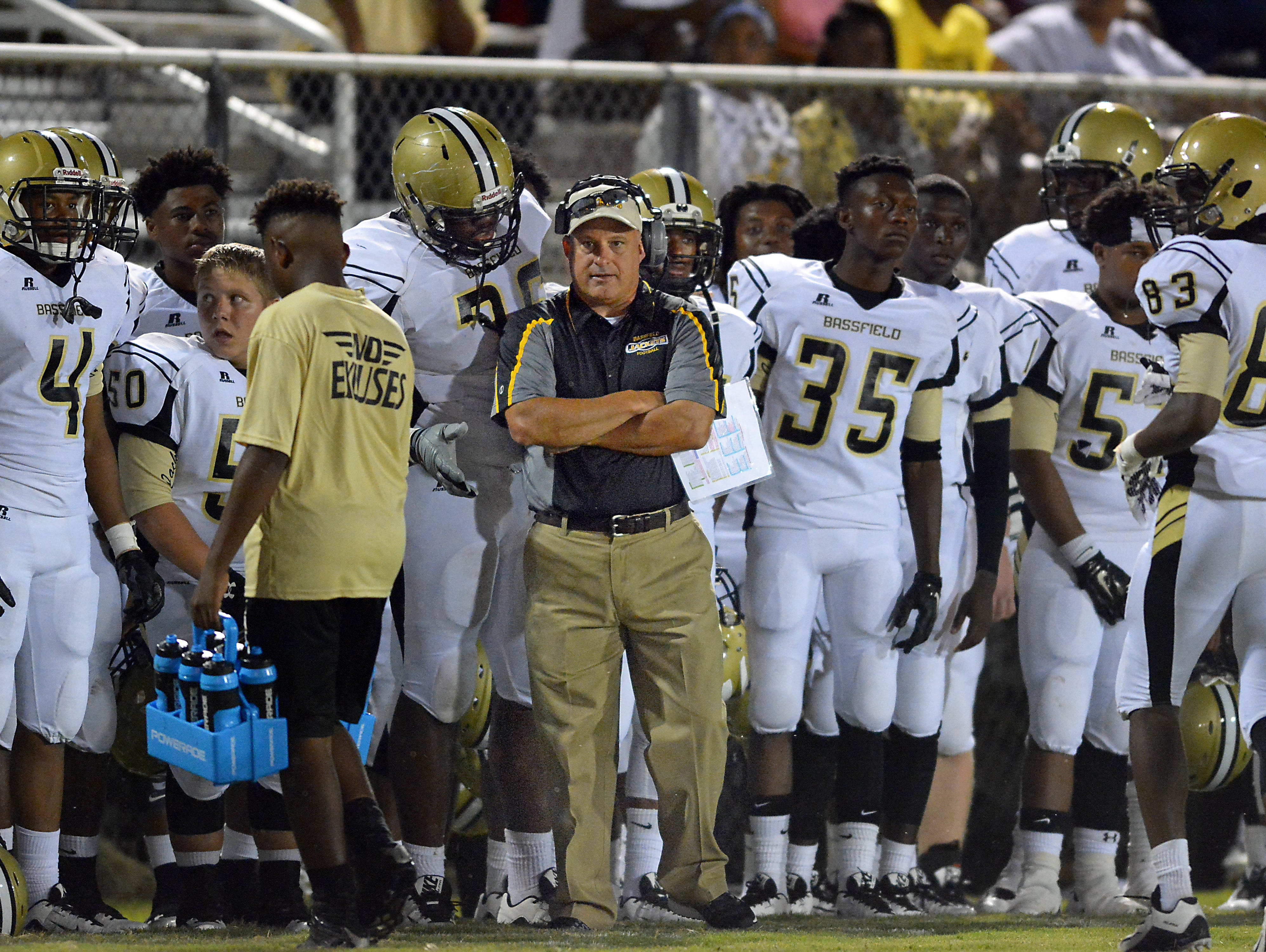 Bassfield coach Lance Mancuso's Yellowjackets face Bay Springs for the Class 2A South State Championship.
