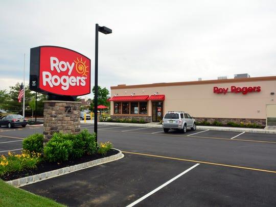 Roy Rogers recently built this restauranton Brick Boulevard
