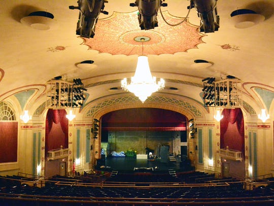 The Strand Theater was completed in 1922.