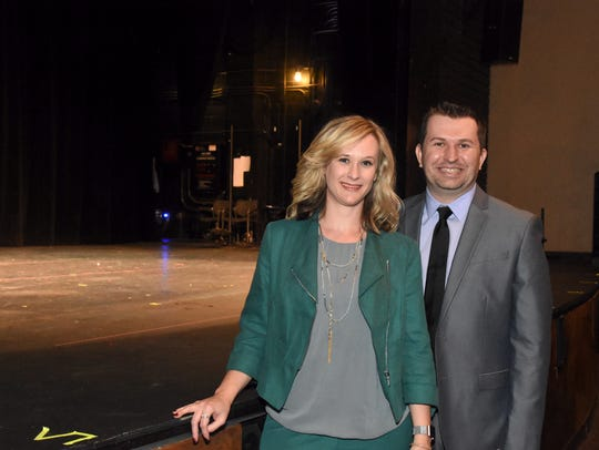 Cate Hinkle and Chris Hamby, the new management team