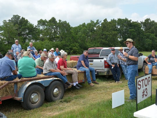 Dr. Tony Provin, Texas A&M AgriLife Extension soil chemist, discusses cost effectiveness of utilizing lime in Central Texas.