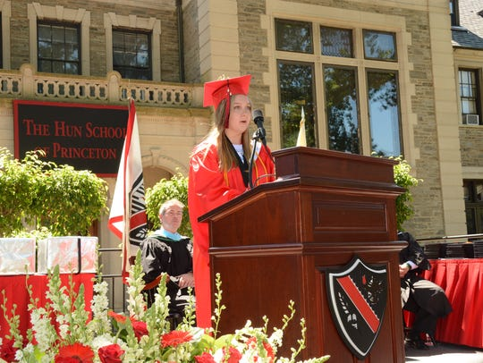 Salutatorian Lydia Buckley