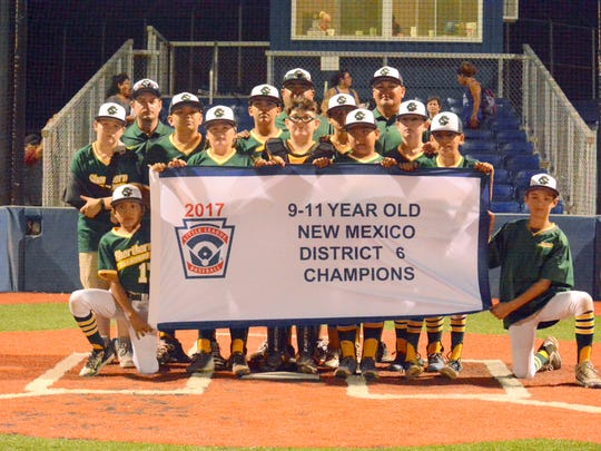 Shorthorn defeats National 11-2 in Thursday's 11-year-old district championship game at Bob Forrest Youth Sports Complex.