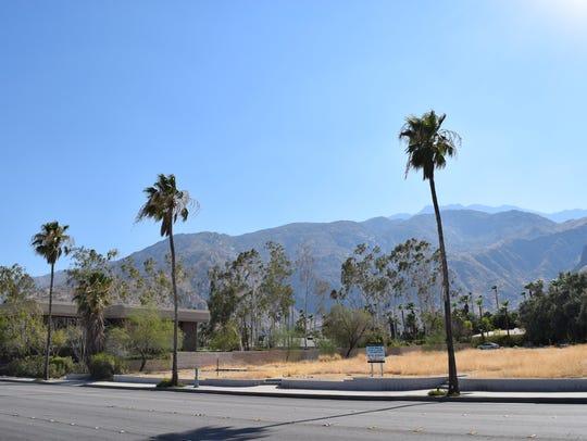 Land on North Palm Canyon Drive owned by Yokang Zhou,